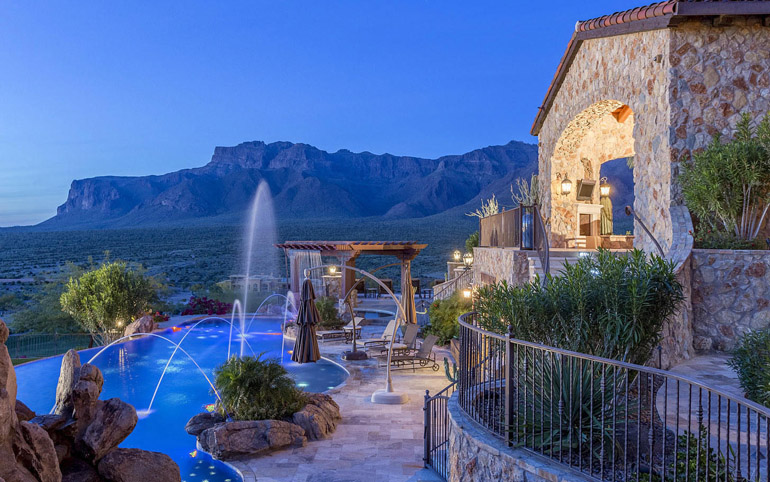 Gold Canyon, 24hr guard gated community of Superstition Mountain, $9,995,000, Listed by West USA Realty .jpg