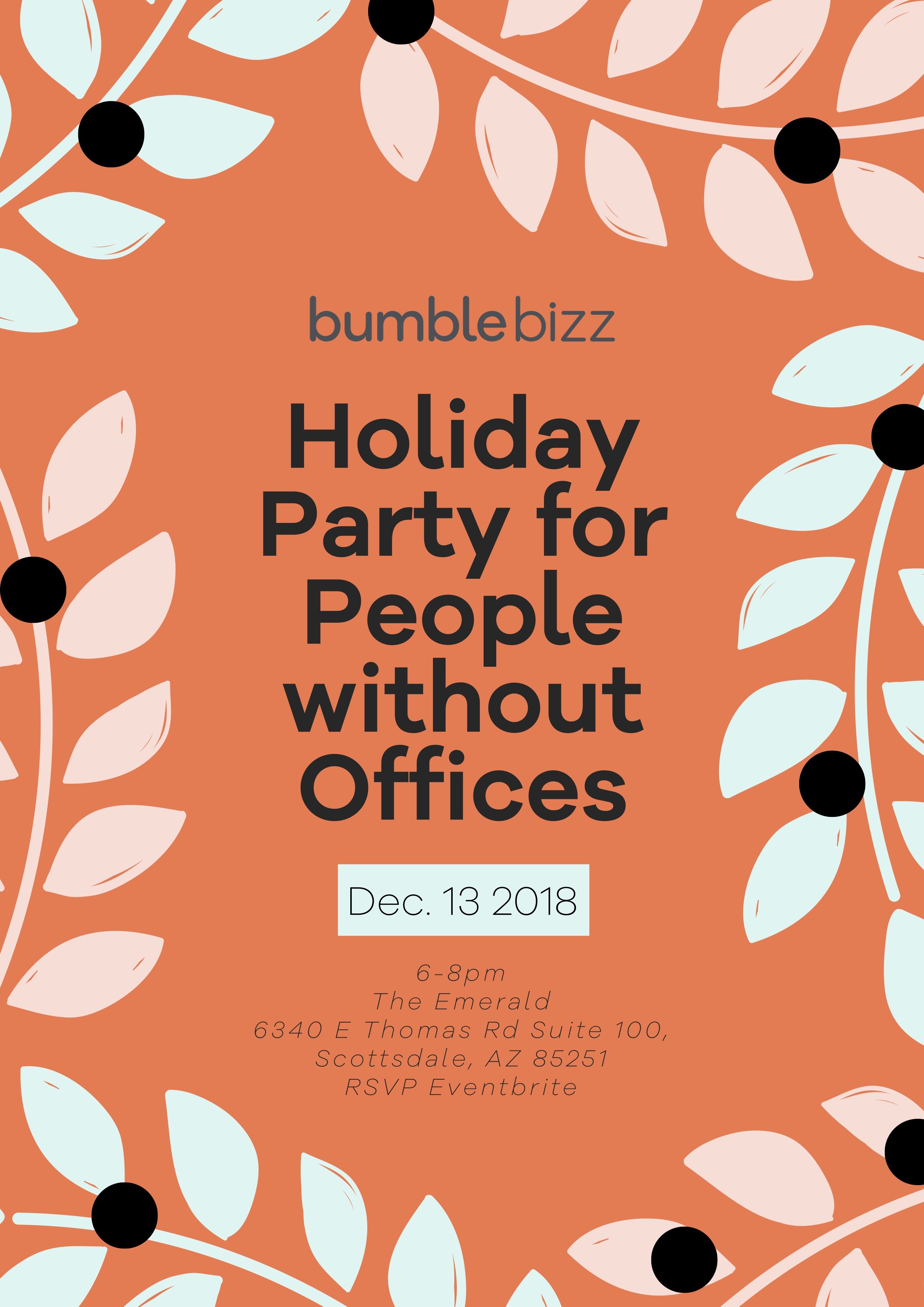 Bumble Bizz Holiday Party