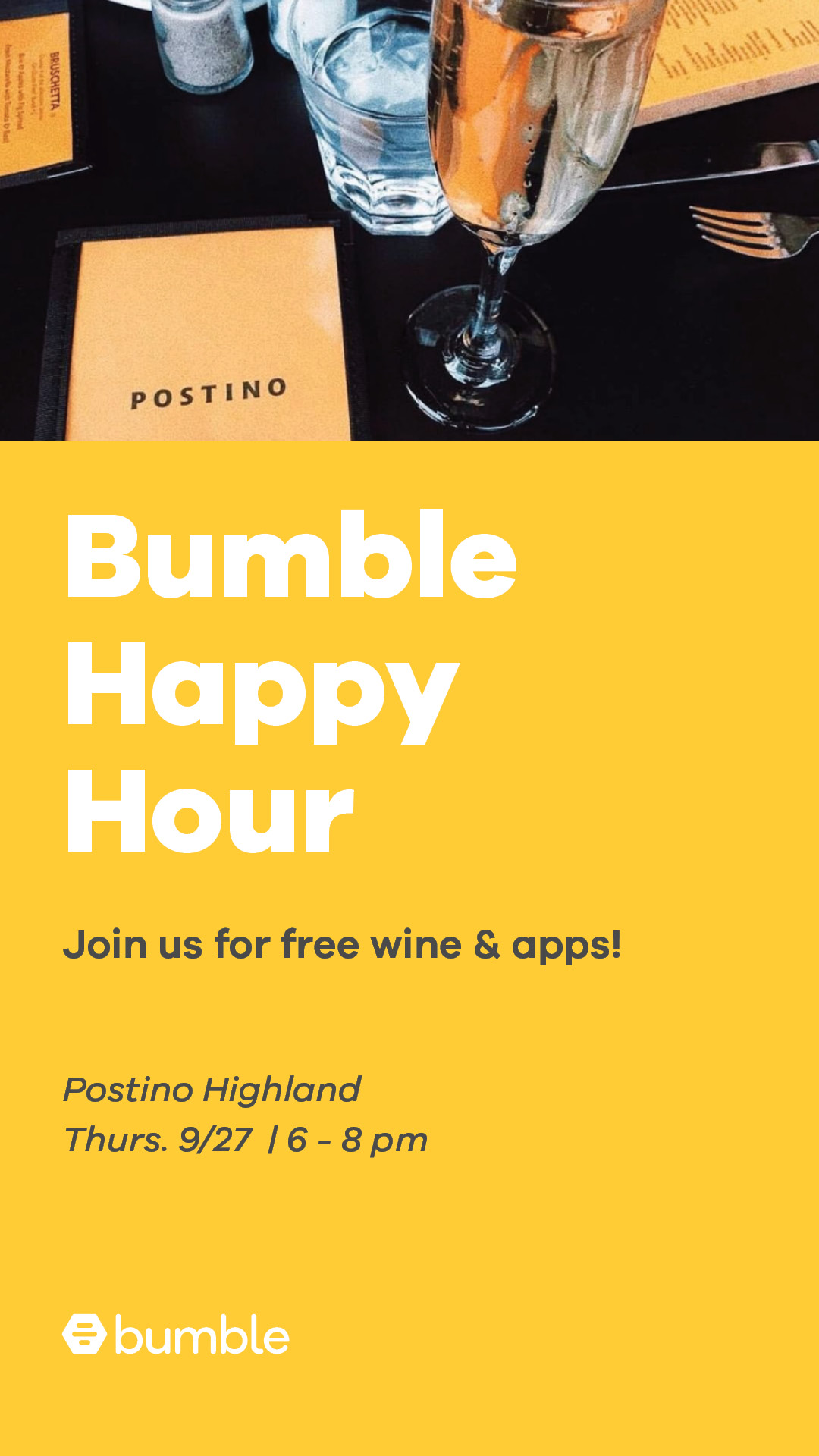 Event - Happy Hour with Bumble Phoenix