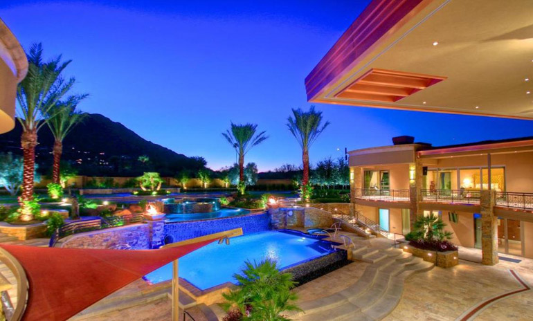 Paradise Valley, Rooms are luxurious and unique of Camelback Mountain, $16,950,000, Listed by Launch Real Estate.jpg