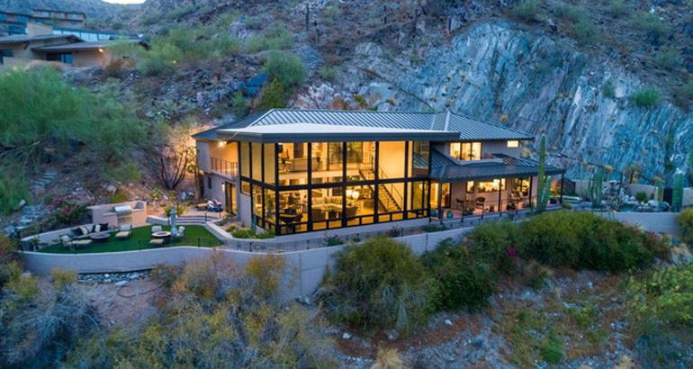 Paradise Valley, This contemporary showcase was recently rebuilt by Greg Hunt and sits on arguably the best lot in Clearwater Hills, $3,960,000, Russ Lyon Sotheby's International Realty.jpg