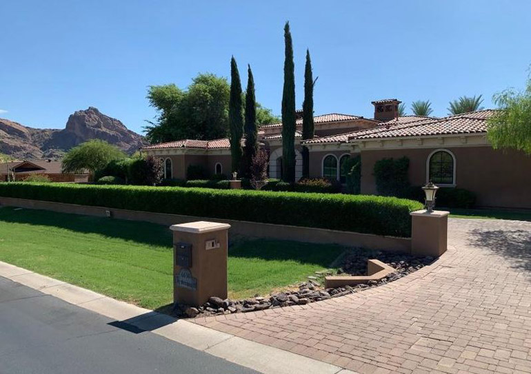 Paradise Valley, Unreal views in all directions on this elevated flat lot from this beautifully elegant formal Mediterranean estate compound, $4,350,000.jpg
