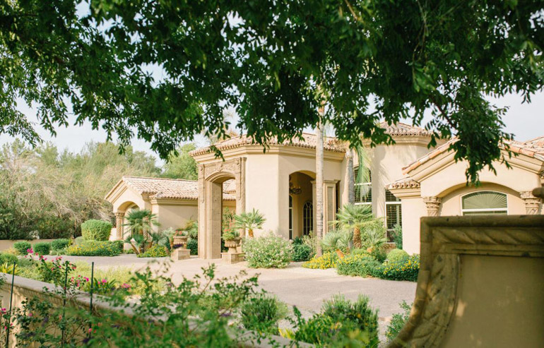 Paradise Valley,  From the moment you drive through the private gates and enter thru the substantial iron and glass front doors, you become aware that you are now in the lap of luxury, $3,050,000.jpg