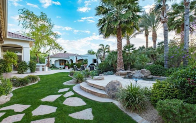 Paradise Valley gated community with lush manicured landscape and guest house Cheney Estates $2,050,000.jpg