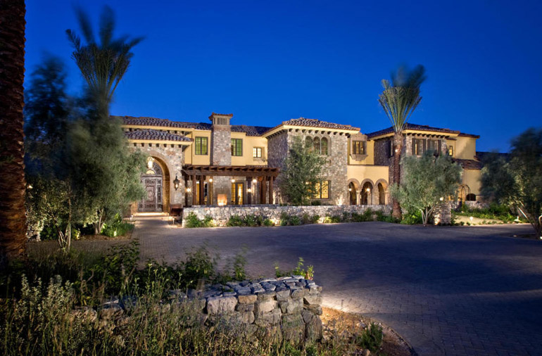 Paradise Valley, hand laid stone walls of  Mummy Mountain, $16,500,000, Listed by Launch Real Estate.jpg