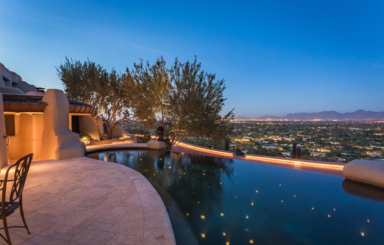 Paradise Valley, polished marble flooring of Metes & Bounds, $8,750,000.jpg