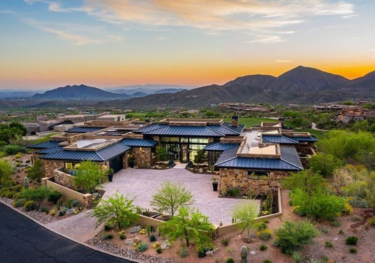 Scottsdale, Experience the ultimate in luxury desert living in this magnificent modern masterpiece offered completely and sensationally furnished, $10,500,000, Russ Lyon Sotheby's International Realty.jpg