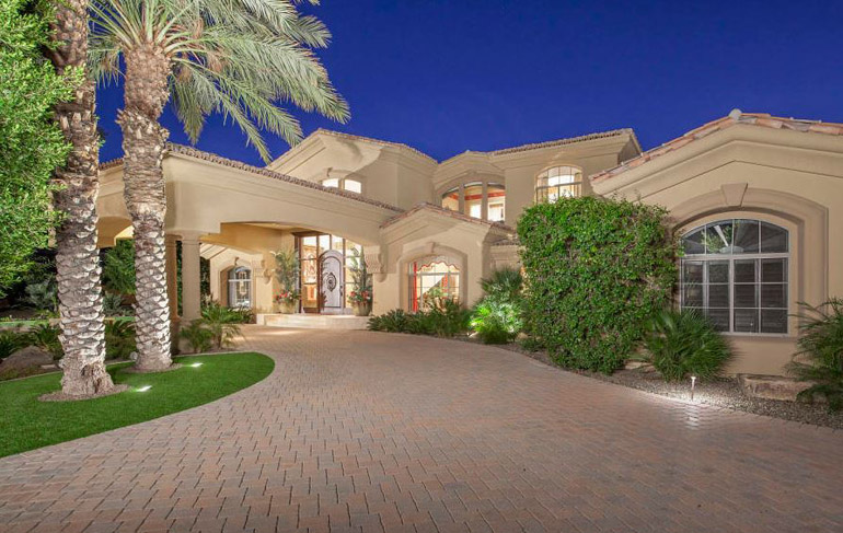Scottsdale,  Incredibly designed, this beautiful custom residence is located off 114th  She in a private gated enclave of fine homes,  $2,550,000.jpg