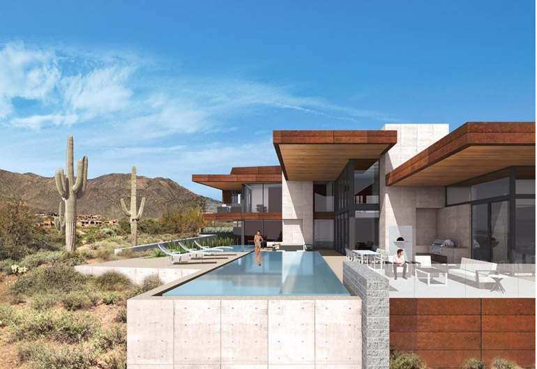 Scottsdale, the ultimate simplicity in design of DESERT MOUNTAIN, $8,997,000.jpg