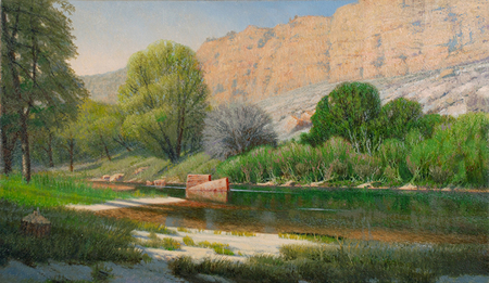 Verde Springs Morning By Tony Winters