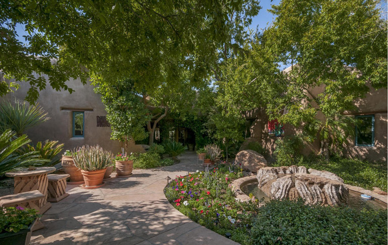Wickenburg, Santa Fe style main house of Verde Hills, $14,900,000.jpg