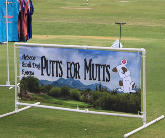 Putts for Mutts Banner