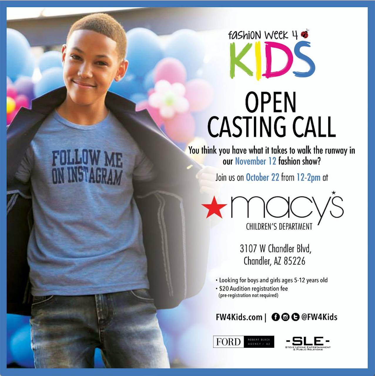 CASTING CALL FOR TELEVISION SERIES