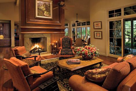 Living Room At Dc Ranch