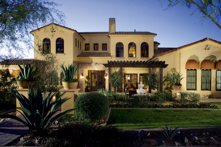 Az insider valley 39 s priciest home sales page 3 for Spanish colonial exterior paint colors