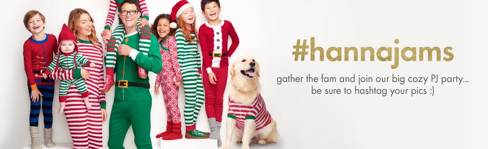 hanna christmas pajamas and family pajamas are just as soft and snuggly as ever in cute christmas colors and darling holiday themed designs
