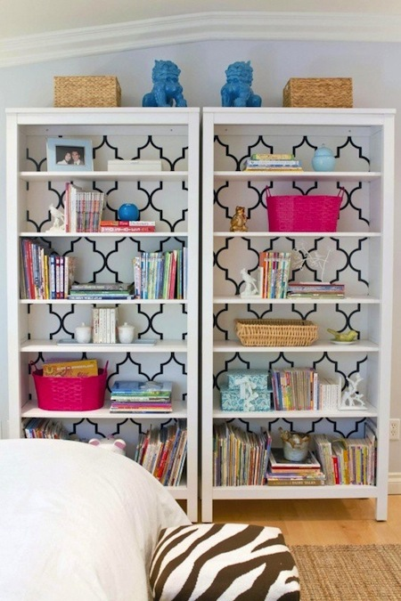 Ikea transformations for stylish and organized kids 39 rooms for Ikea childrens bookshelf