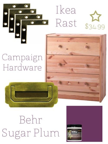 Ikea-transformation-champaign-chest-girls-room