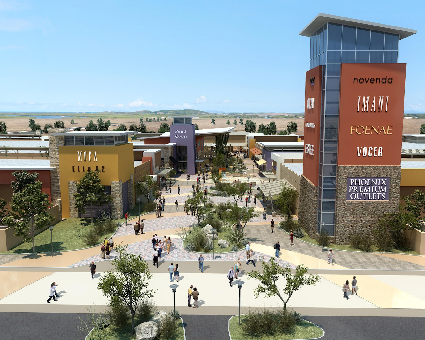 New designer outlet mall opens in chandler for Designer wohnaccessoires outlet