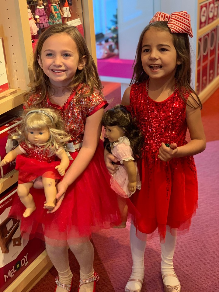 2 besties at American Girl