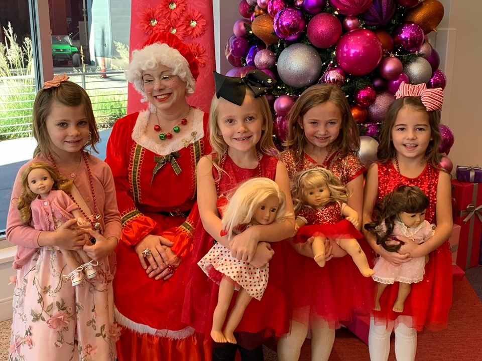 friends with Mrs Claus American Girl