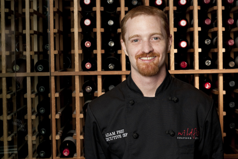 Featured chef adam price for Wild fish scottsdale az