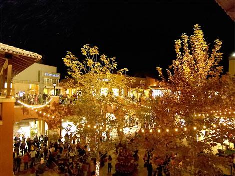 this holiday season enjoy some make shift powder and holiday wonder at enchanted snowfall presented by la encantada shopping center in tucson - Snowfall Christmas Lights