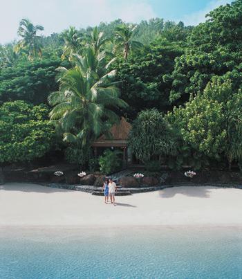Weddings Are Truly Breathtaking On Turtle Island As The Sun Sets Main Beach Groom Awaits His Bride While S Choir Sings