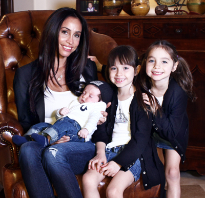 Alejandra Nash and Kids