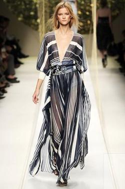 Runway maxi dress