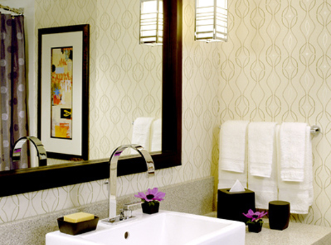 How To Wallpaper A Bathroom 2017 Grasscloth Wallpaper
