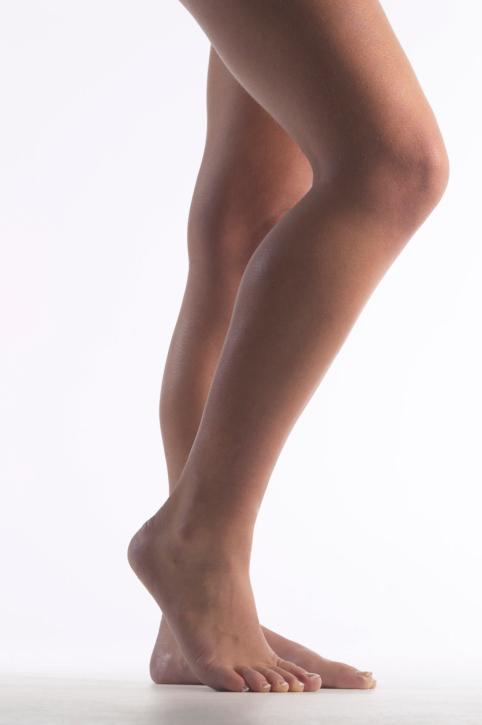 sexy calves of girl