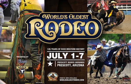 4 July Wolds Oldest Rodeo in Prescott