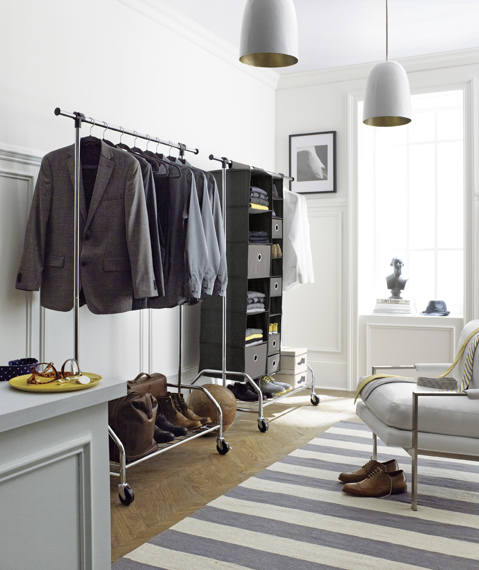 Wonderful Beautiful Bedroom Clothes Rack Images   House Design 2017 .