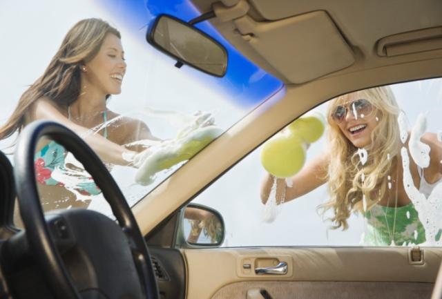 Drive Thru Car Wash >> Monsoon Season Bikini Car Washes
