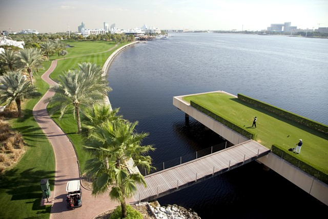 Creek Dubai 6th Tee