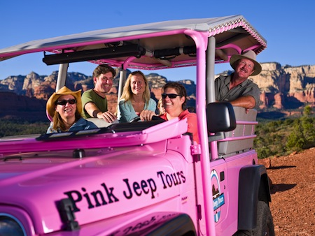 28 June Arizona Pink Jeep