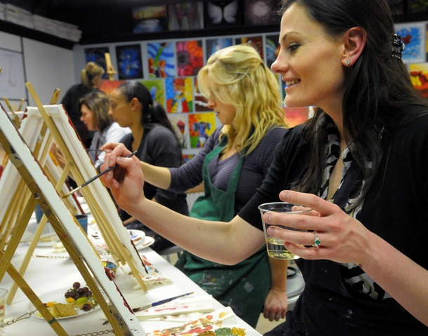 painting with a twist opens in tempe