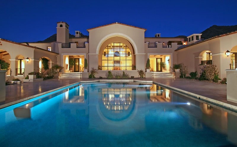 Mansions With Pools At Night Wwwpixsharkcom Images