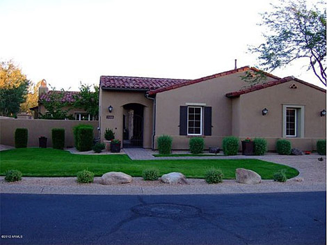 Scottsdale - Guard Gated Golf Course Community Grayhawk - 1075000