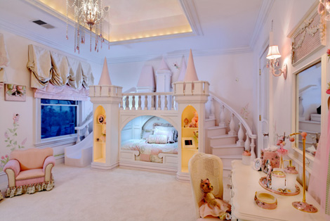 Kimora Lee Simmons Daughters Bedroom On Kimora Lee Simmons