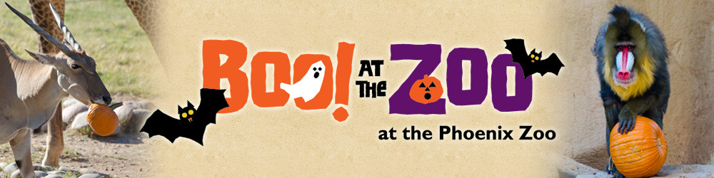 image regarding Printable Riverbanks Zoo Coupons known as Boo at the zoo phoenix - Actions for my 2 yr previous