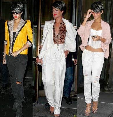 Student Fashion Inspiration Rihanna And Betsey Johnson