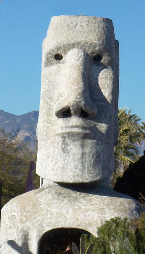 Tucson S Famous Giant Tiki Sculpture Is Resurrected