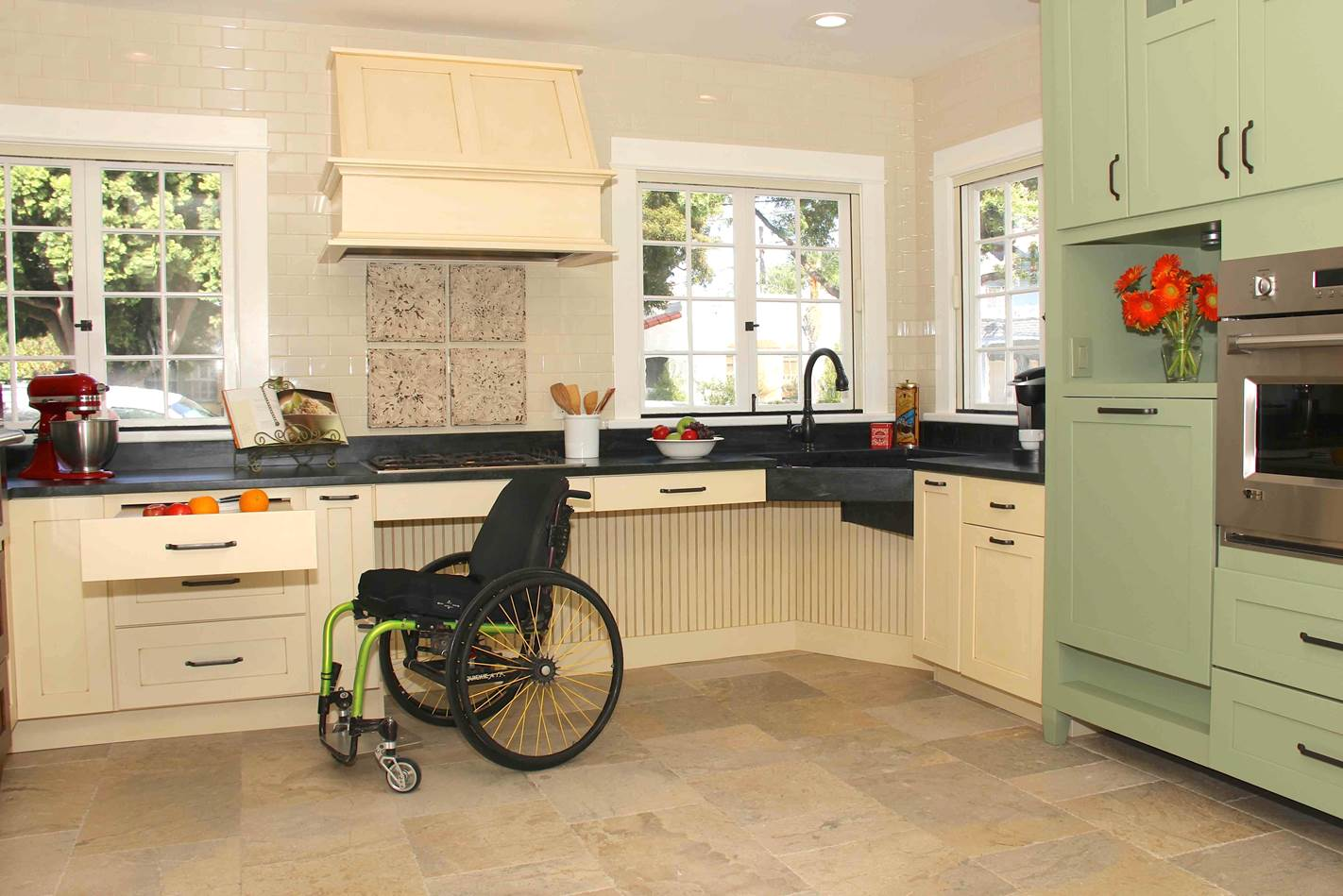 Universal design one size fits all for Wheelchair homes
