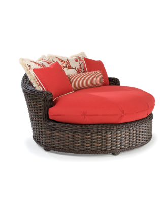 Weu0027re Sleepy. And We Can Think Of Noplace Better Than Atop The South  Hampton Round Chaise By Lane Venture To Nap  Poolside, Gardenside Or On A  Balcony.