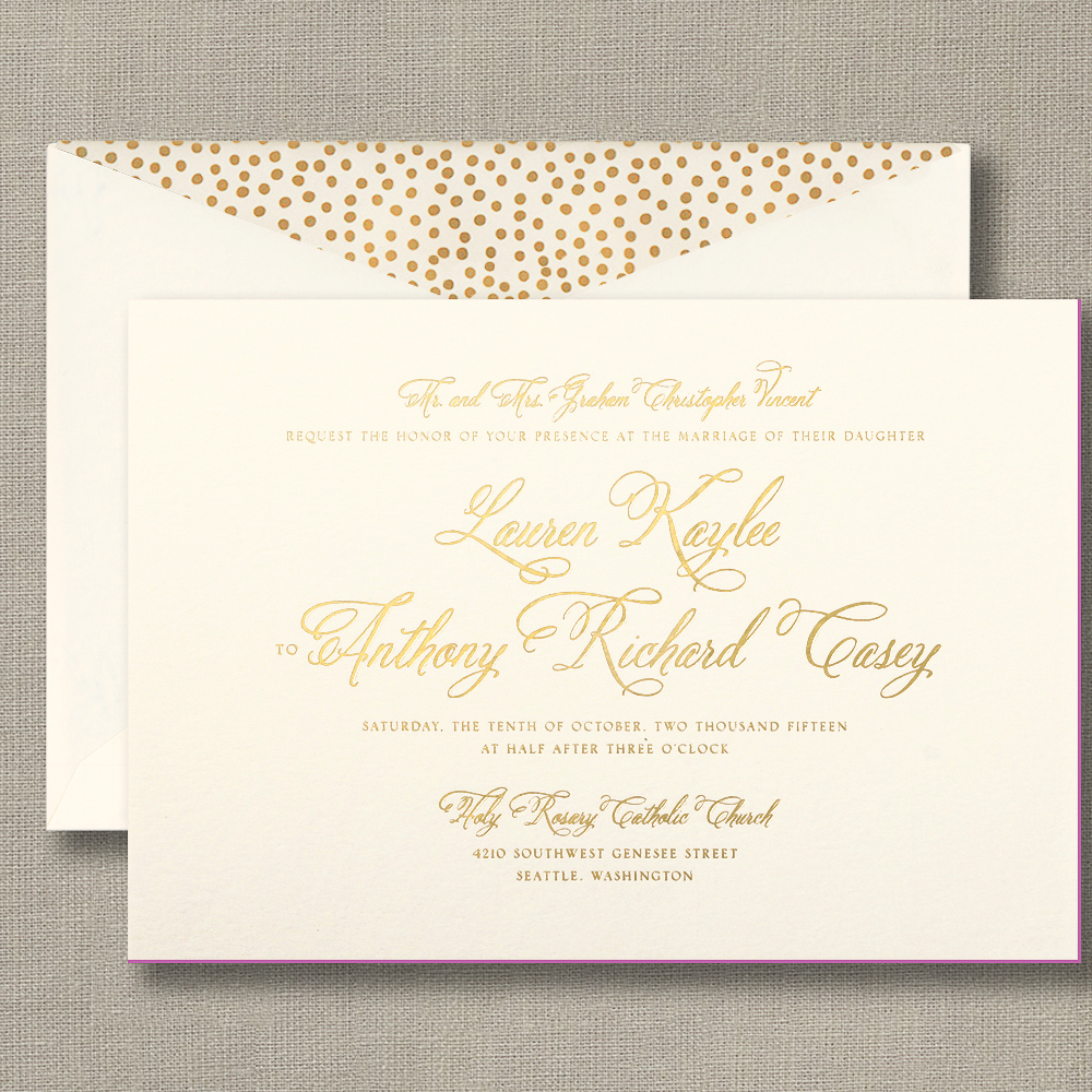 Wedding Invitation Trends for 2017
