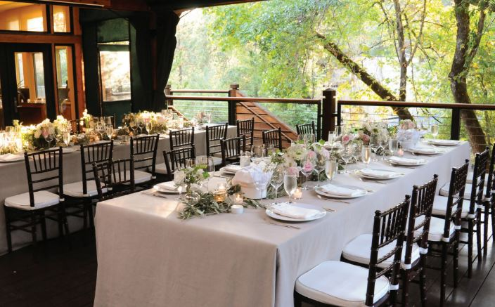 creekside clubhouse calistoga ranch elopement