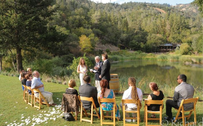 lommel lawn calistoga ranch elopement