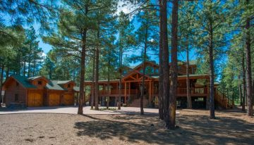 Summer Home Tours in the Luxurious Forest Highlands Community of Northern Arizona
